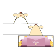 ユーリ!!! on ICE× Sanrio characers フードタオル(ヴィクトル・ニキフォロフ)